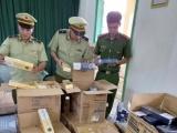 Phú Yên: Thu giữ 10.000 bao thuốc lá nhãn hiệu 555 nhập lậu
