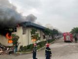 Đám cháy tại Công ty IVORY Thanh Hóa đã được khống chế