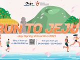 KTO Việt Nam và Cục Xúc tiến Du lịch Jeju tổ chức giải chạy bộ trực tuyến