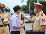 Hà Nội: Gần 700 tài xế vi phạm nồng độ cồn trong 15 ngày CSGT ra quân