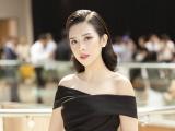 Dương Yến Nhung diện trang phục đen quyến rũ, chia sẻ ước mơ làm giàu