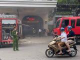 Hà Nội: Cháy ô tô dưới hầm Trung tâm thương mại Tràng Tiền Plaza