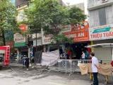Công an Hà Nội thông tin về vụ cháy trên phố Tôn Đức Thắng