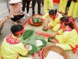 Phú Thọ: 13 huyện, thành, thị tham gia hội thi gói, nấu bánh chưng