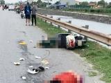 Hải Dương: 3 người thương vong sau khi bị xe container đi cùng chiều tông