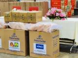 Tập đoàn Mai Linh hỗ trợ lương thực và thiết bị y tế cho kiều bào ở Campuchia