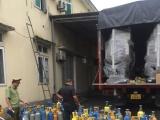 Bắt giữ xe tải vận chuyển lượng lớn khí cười tại Hà Tĩnh