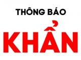 Thông báo khẩn số 40: Tìm người đi chuyến xe khách 30V-4157 tuyến Hà Nội- Lạc Sơn