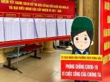 Bộ Y tế yêu cầu tăng cường phòng chống dịch COVID-19 phục vụ bầu cử