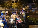 CSGT toàn quốc tăng cường xử phạt người không đeo khẩu trang