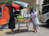 Vinamilk dành quỹ hơn 2 triệu sản phẩm hỗ trợ cộng đồng và tuyến đầu chống dịch