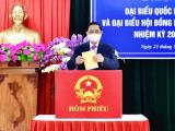 Thủ tướng Chính phủ Phạm Minh Chính bỏ phiếu bầu cử tại Cần Thơ