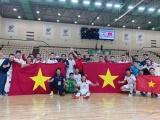 Đội tuyển Futsal Việt Nam giành vé dự VCK FIFA Futsal World Cup