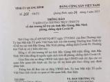 Quảng Bình: Hỗ trợ gần 1 tỷ đồng cho hai tỉnh Bắc Giang và Bắc Ninh chống dịch Covid-19