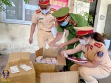 CSGT đường sắt bắt giữ lô hàng điện thoại nghi nhập lậu