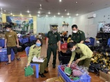 Quảng Ninh: Phát hiện kho hàng chứa nhiều sản phẩm quần áo, mỹ phẩm nghi nhập lậu