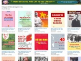 Triển lãm sách trực tuyến kỷ niệm 110 năm Ngày Bác Hồ ra đi tìm đường cứu nước