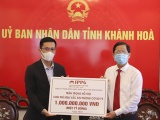 Quỹ IPPG của Tiên Nguyễn đã trao tặng 1 tỷ đồng mua vắc xin phòng chống Covid-19 tại Khánh Hoà