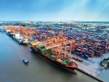 Hàng container qua cảng biển tăng 22% trong 6 tháng đầu năm