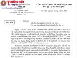 Hà Tĩnh: Thu hồi văn bản do quyền GĐ Sở Y tế ký về việc 'không tiếp nhận' người từ TP Vinh