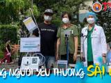 'Những người yêu thương Sài Gòn' hỗ trợ Tp. HCM 1,3 tỷ đồng chống dịch Covid-19