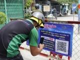 Thêm 12 mã QR khai báo y tế qua 12 chốt cửa ngõ TP Hồ Chí Minh