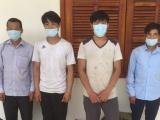 Quảng Nam: Phát hiện 4 người nhập cảnh trái phép