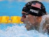 """""""Kình ngư"""" Mỹ gây sốt với 5 HCV và 4 kỷ lục Olympic"""