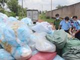 Đồng Nai: Phát hiện cơ sở tái chế 1 tấn khẩu trang phế liệu