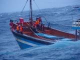 Quảng Ngãi: Cứu hộ thành công 13 thuyền viên gặp sự cố trên đường tránh bão