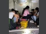 Bình Thuận: Xe chở 15 người trong thùng đông lạnh để qua chốt kiểm soát dịch COVID-19