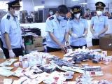 Lực lượng Hải quan thu giữ hơn 60.000 viên thuốc điều trị COVID-19