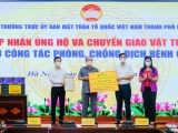 Tập đoàn T&T Group trao tặng 1 triệu bộ kit xét nghiệm PCR hỗ trợ Hà Nội chống dịch Covid-19