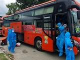Ninh Thuận đón 194 người dân trở về từ TP Hồ Chí Minh