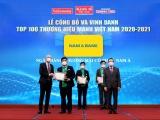 Nam A Bank nhận giải thưởng Thương hiệu mạnh Việt Nam 6 lần liên tiếp