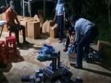 Gia Lai: Phát hiện 2.000 bao thuốc lá nhập lậu vận chuyển trên xe 'luồng xanh'