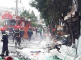 TPHCM: Hỏa hoạn thiêu rụi cửa hàng điện gia dụng tại quận Bình Tân