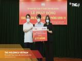 Tập đoàn TNG Holdings Vietnam luôn đồng hành trong mọi hành động phòng, chống dịch Covid-19