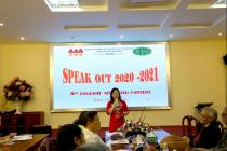 """Khoa Tiếng Anh A tổ chức cuộc thi sinh viên nói tiếng Anh giỏi lần thứ 5 """"Speak out 2020 – 2021"""""""