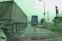 Đã xác định danh tính tài xế xe container cán tử vong cô gái ở Mê Linh