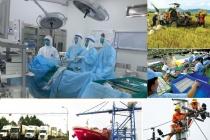 Cả nước quyết tâm vừa phát triển kinh tế, vừa chiến đấu chống dịch COVID-19