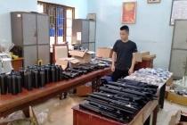 Hà Nội: Phát hiện kho vũ khí quân dụng trái phép
