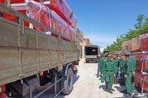 Bộ Tổng tham mưu xuất cấp gần 60 tấn lương khô và trang thiết bị hỗ trợ miền Trung