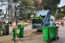 Hà Nội: Phân luồng rác thải, tạm thời ứng phó với sự cố Nam Sơn