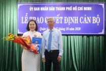 Bà Lê Thị Thanh Thảo giữ chức chủ tịch UBND quận 6 khóa X