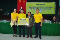 Nam A Bank chung tay hướng về miền Trung thân yêu
