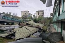 Quảng Nam: Đẩy nhanh công tác khắc phục hậu quả do bão số 9