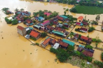 Thư, điện thăm hỏi về thiệt hại do bão lũ tại các tỉnh miền Trung