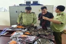Lạng Sơn: Thu giữ hơn 200 chiếc áo giả thương hiệu Louis Vuiton