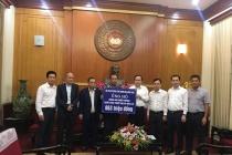 Ủy ban TW Mặt trận Tổ quốc Việt Nam tiếp nhận ủng hộ đồng bào miền Trung